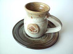 Vintage Stoneware Vail Colorado Souvenir Mug & Plate by PoorLittleRobin, $12.00