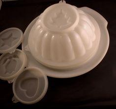 Vintage Tupperware JelMold by kitschycooltreasures on Etsy, $9.00