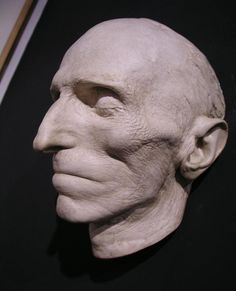 Death Mask of Nikola Tesla