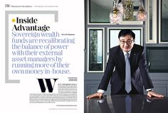 institutional investor magazine - spread