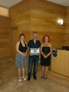 Presentando a Sergio Barce en Algeciras