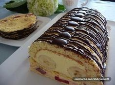 NapadyNavody.sk | 33 najlepších receptov na slané a sladké rolády, ktoré si môžete pripraviť na Veľkú noc Cake Roll Recipes, Cooking Recipes, Healthy Recipes, Pastry Cake, Rolls Recipe, Baked Goods, Sweet Tooth, Cheesecake, Food And Drink