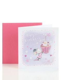 Dan's Mouse Birthday Card   M&S