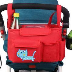 Toddler Simple Fashion Pram Brand Baby Stroller Organizer Accessories Polyester Universal Stroller Bag Hanger