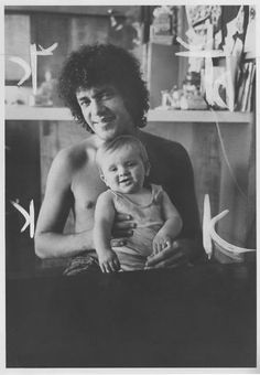 """Musician Mike Bloomfield, above (with son Nick), was 37 when he died in 1981. He is the subject of """"Sweet Blues,"""" a documentary by Bob Sarle..."""