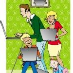 """Families online - should you """"friend"""" your children?"""