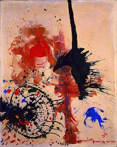 Hans Hofmann - The Prey@1956 http://www.wikiart.org/en/paintings-by-style/action-painting