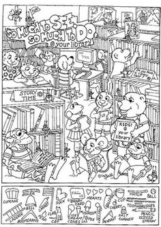 Kids Activity Books, Activities For Kids, Crafts For Kids, Coloring Sheets, Coloring Books, Coloring Pages, Hidden Picture Games, Hidden Pictures Printables, Dot To Dot Printables