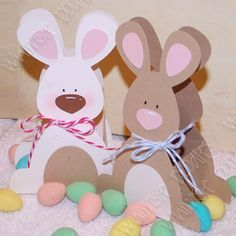 Free Bunny Basket cutting file from Whimsie Doodles