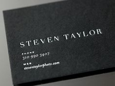 shot 1299871088 15 Sleek Examples of Black Business Cards