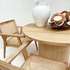 In Stock Now! The unique handcrafted Corfu Dining Table is made with a beautiful Teak timber top with a stunning rattan base. The Seville Chair is also a great addition. Interest free payment options available. www.finditstyleithome.com.au #furniture #homeinspo #interiorinspo #beachhouse #interiors4all #interiorlovers #homebeautiful #homestloveau #onlineshopping Absolutely Stunning, Beautiful, Corfu, Seville, Rattan, Teak, Dining Table, Base, Chair