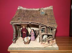Handgemaakte kerststallen