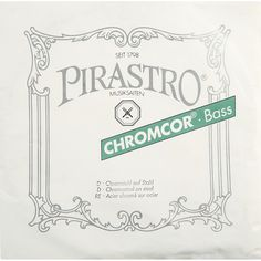 Pirastro Chromcor Series Double Bass D String 1/4