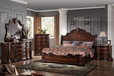 Found it at Wayfair Supply - Pavillon Panel 5 Piece Bedroom Set 5 Piece Bedroom Set, King Bedroom Sets, Queen Bedding Sets, Bedroom Furniture Sets, Queen Beds, Bedroom Decor, Bed Furniture, Bedroom Ideas, Steel Furniture