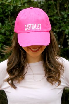 2a7a225d333 Cart - Future Female Leaders. Capitalist Block Baseball Cap ...
