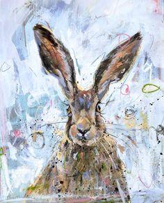 """JAMES BARTHOLOMEW: """"Brown Hare"""""""