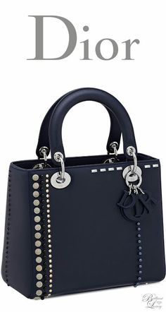 66189960ea8 Ladies bags accessories Brilliant Luxury Dior Cruise 2016 ~ Lady Dior bag  in calfskin studded with beads and rhinestones
