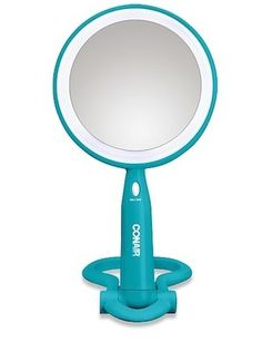 Illuminated LED Mirror- must have for a dorm!