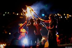 ... the pagan-inspired spring rituals at the annual Beltane Fire Festival