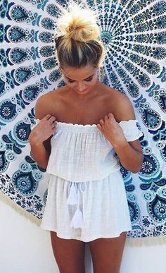 #summer #white #beau