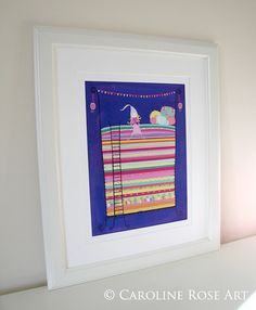 The Princess and the Pea  LARGE Fine Art Print  by CarolineRoseArt, £25.00