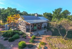 What an incredibly charming hill country ranch! Located just 15 miles north of Junction, TX, this ranch features beautiful landscape and topography packed into 50 acres, accompanied by exceptional ca