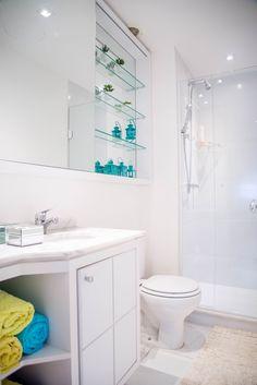 Apartamento R&C: Banheiro Fotos: Carolina Mascia