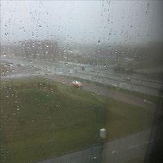 Rain, rain, rain......view from het Facet, FNV Utrecht