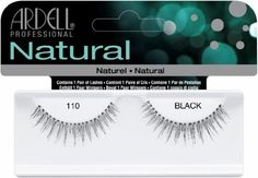 Ardell Natural Lashes (Black 110)