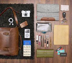 What's in my bag? by hellogeri, via Flickr