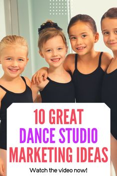 Most current Photographs 10 Great Dance Studio Marketing Ideas Thoughts Head researchers have looked at dancers in the top and discovered: they train essential skills and