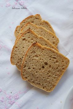 Delicious Titbits: Chleb żytni jasny Breads, Cakes, Brot, Bread Rolls, Cake Makers, Kuchen, Bread, Cake, Pastries