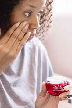 Read my review on Olay Regenerist Micro-Sculpting Cream and how it fits into my daily skincare routine. @OlayUS #Olay #ad #Ageless