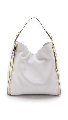 Michael Kors Collection Miranda Zips Shoulder Bag
