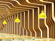 wall at Astellas in London by Perkins + Will