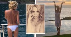 Britney Spears Displays Her Toned Body In A Topless HOT Selfie Shared On Instagram From Malibu