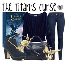 """The Titan's Curse -- Percy Jackson & The Olympians"" by evil-laugh ❤ liked on Polyvore featuring H&M, American Eagle Outfitters, Forever 21, River Island, Pieces, percyjackson and thetitanscurse"