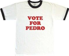 Napoleon Dynamite Vote For Pedro T-shirt M