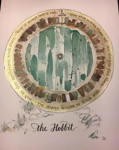 A personal favorite from my Etsy shop https://www.etsy.com/listing/589145603/smaller-hobbit-door-one-ring-lord-of-the