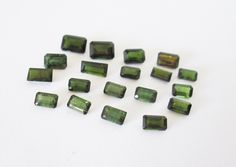 Natural Green Tourmaline Mixed  Lot 8.20cttw by BellaGems61 on Etsy $15.00