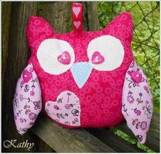 Owl  Sovička na postýlku :: Kathy