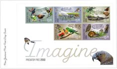 Myself and enjoyed working on this series for New Zealand Post Free News, Predator, Postage Stamps, New Zealand, Coins, Illustration, Coining, Rooms, Illustrations
