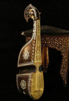 Rubab, traditional instrument mainly from Pakistan and Afghanistan. It's Afghanistan's national instrument.