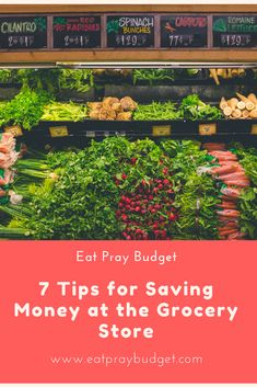Ever leave the grocery store wondering how you spent so much?! I've been there too! Check out this article for tips to save on your next trip!