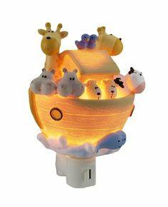 Amazon.com: Children`s Noah`s Ark Night Light Nite Lite: Baby
