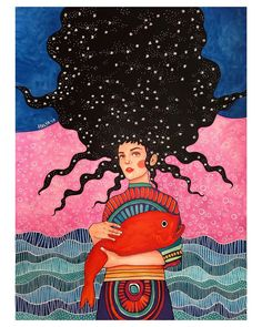 """a place i know"" by Hülya Özdemir Altered Book Art, Guache, Portrait Art, Canvas Art Prints, Zentangle, Art Inspo, Illustrators, Cool Art, Graffiti"