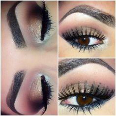Neutral Smokey Eyes. used @BH Cosmetics Day  Night palette for this ...