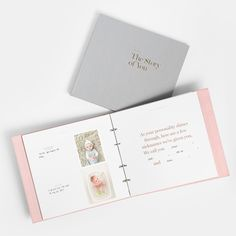 The story of you: Gorgeous new keepsake baby book and album from Artifact Uprising