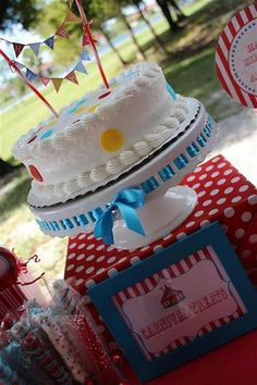 """Photo 1 of 35: Carnival/Circus / Birthday """"Anabella and James' Carnival Birthday Party"""" 