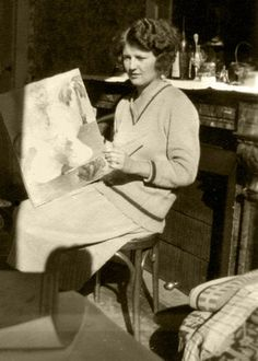 Exclusive exhibition of Zelda Fitzgerald's art opens Nov. 14 at Penn College - DIY - Zelda - tips Scott And Zelda Fitzgerald, Paris 1920s, The Fitz, Jazz Age, High Art, Vintage Photos, Famous People, Literature, Illustration Art